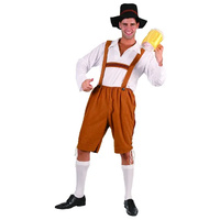 Beer Man Bavarian Octoberfest costume