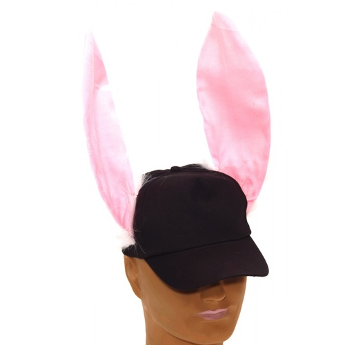 Baseball Cap with Jumbo Bunny Ears