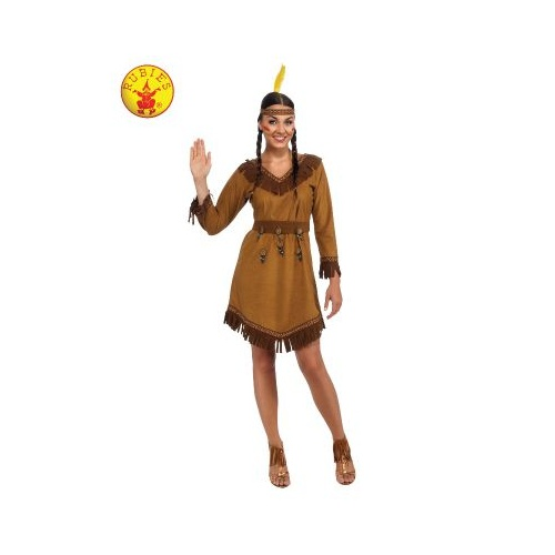 NATIVE AMERICAN WOMANS COSTUME, ADULT