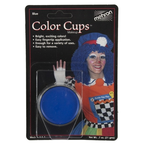 Blue Grease Paint Cup