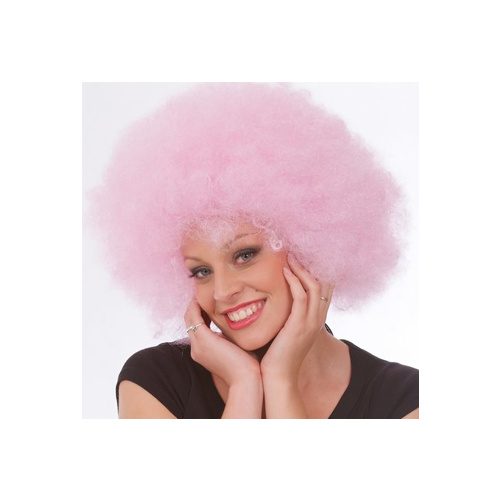 Afro Wig Fantasy Colours [Colour: Yellow]