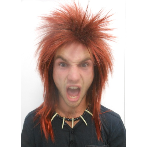 Rod Stewart Rocker Style Character Wig Ginger